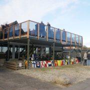 indvielse af sejlklubbens nye terrasse